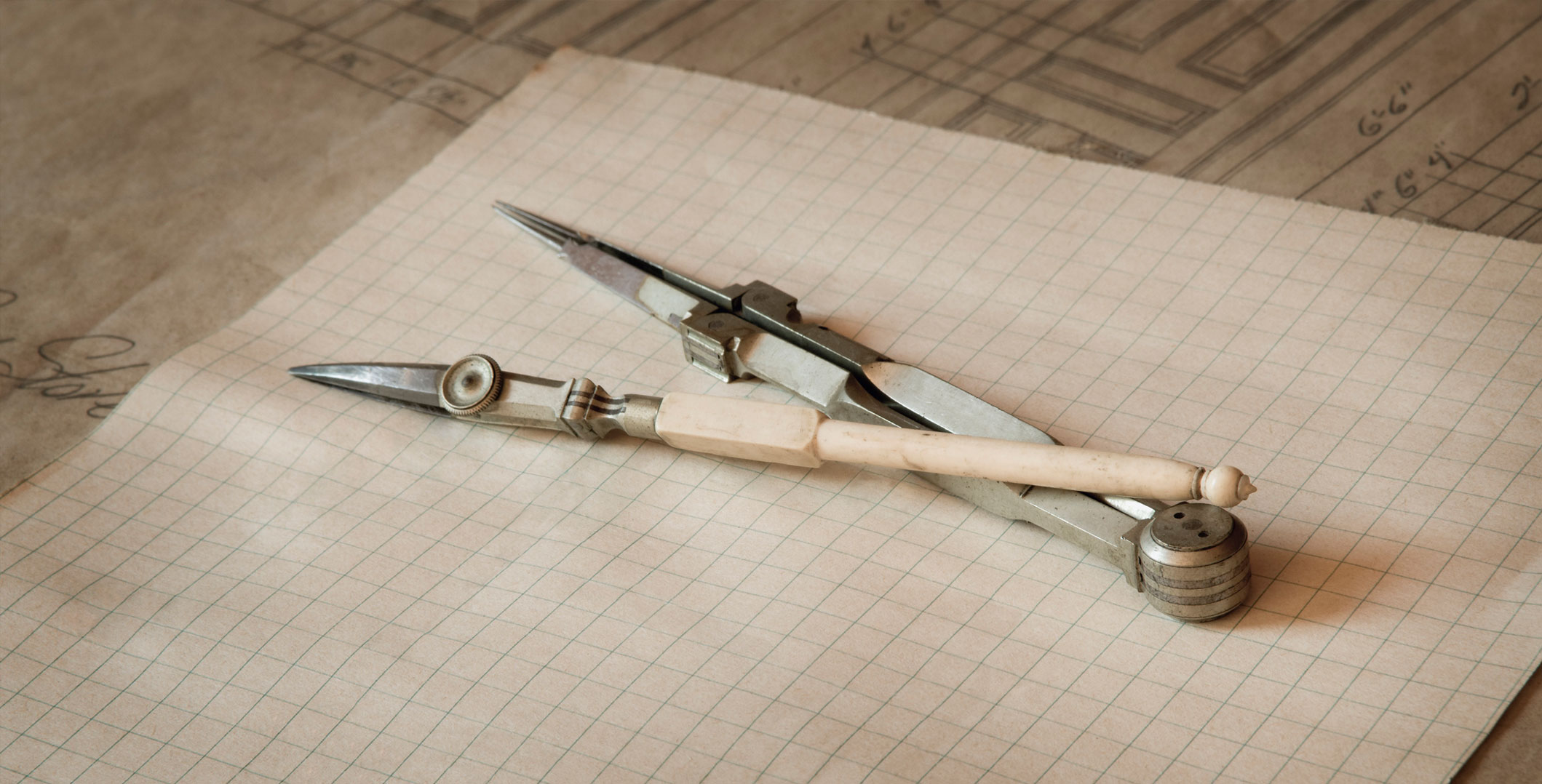 Antique Drafting Tools